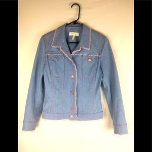 Escada jean beaded  jacket size 36